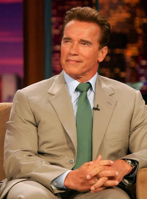 Arnold Schwarzenegger on