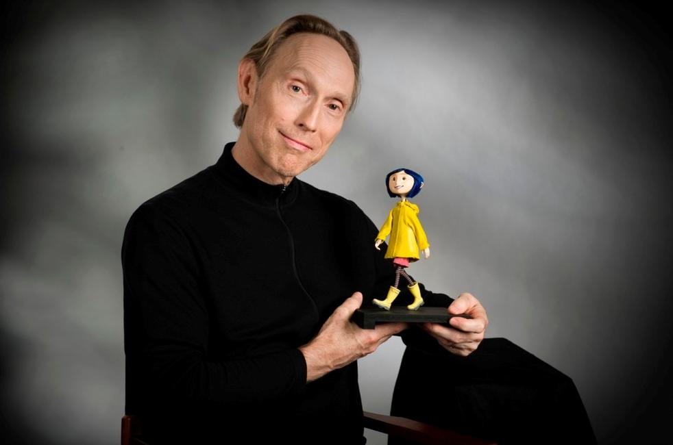 Director/Writer Henry Selick on the set of