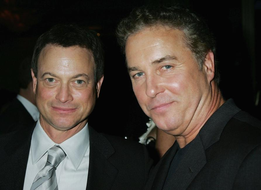 Gary Sinise and William L. Peterson at the Museum of Television and Radios annual Los Angeles gala.
