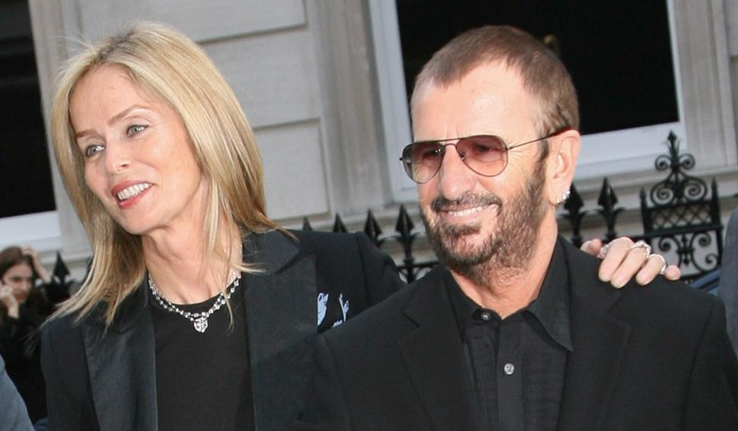 Barbara Bach and Ringo Starr at the Linda McCartney Photographs - Private View.