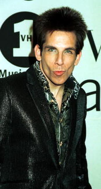 Ben Stiller at the 2000 VH1/Vogue Fashion Awards in New York City.