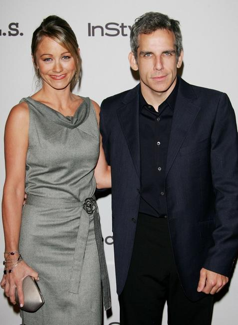 Christine Taylor and Ben Stiller at the 8th Annual Project A.L.S.