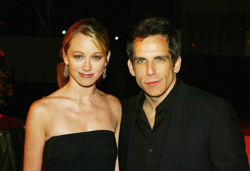 Christine Taylor and Ben Stiller at the 4th Annual