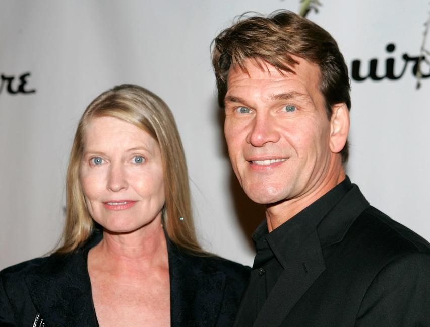 Patrick Swayze and Lisa Niemi at the 2nd Annual Ocean Partners Awards Gala.