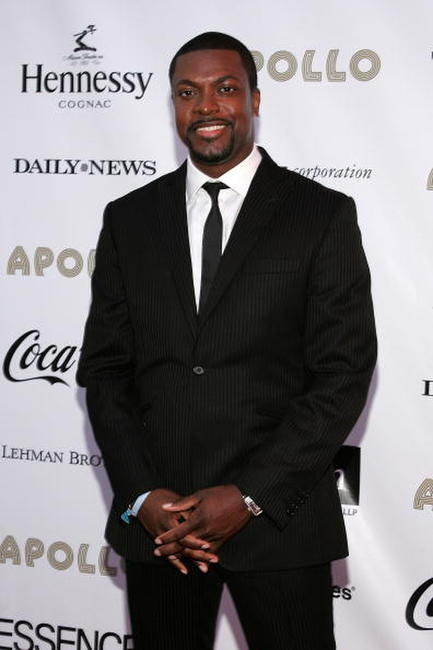 Chris Tucker at the Third Annual Apollo Theater Spring Benefit in N.Y.