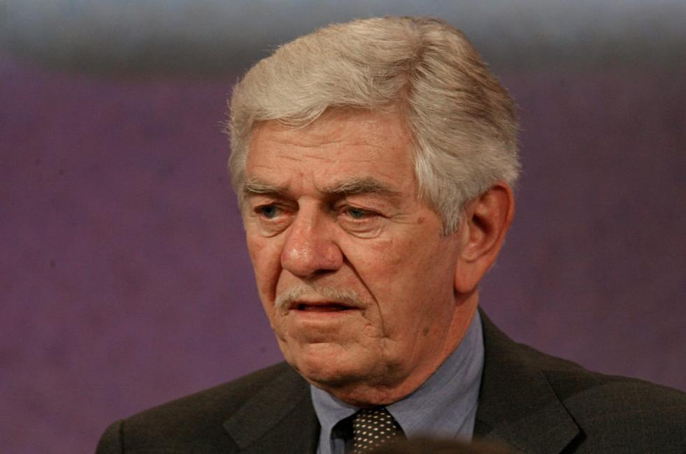 Seymour Cassel at the NBC executive question and answer segment of the Television Critics Association Press Tour.