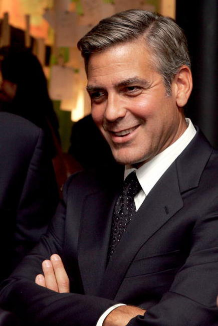 George Clooney at a N.Y. dinner hosted by the Save Darfur Coalition.