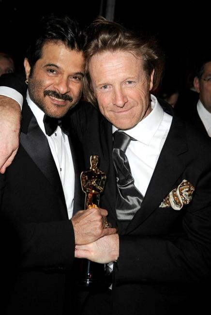 Anil Kapoor and Anthony Dod Mantle at the Fox Searchlight official
