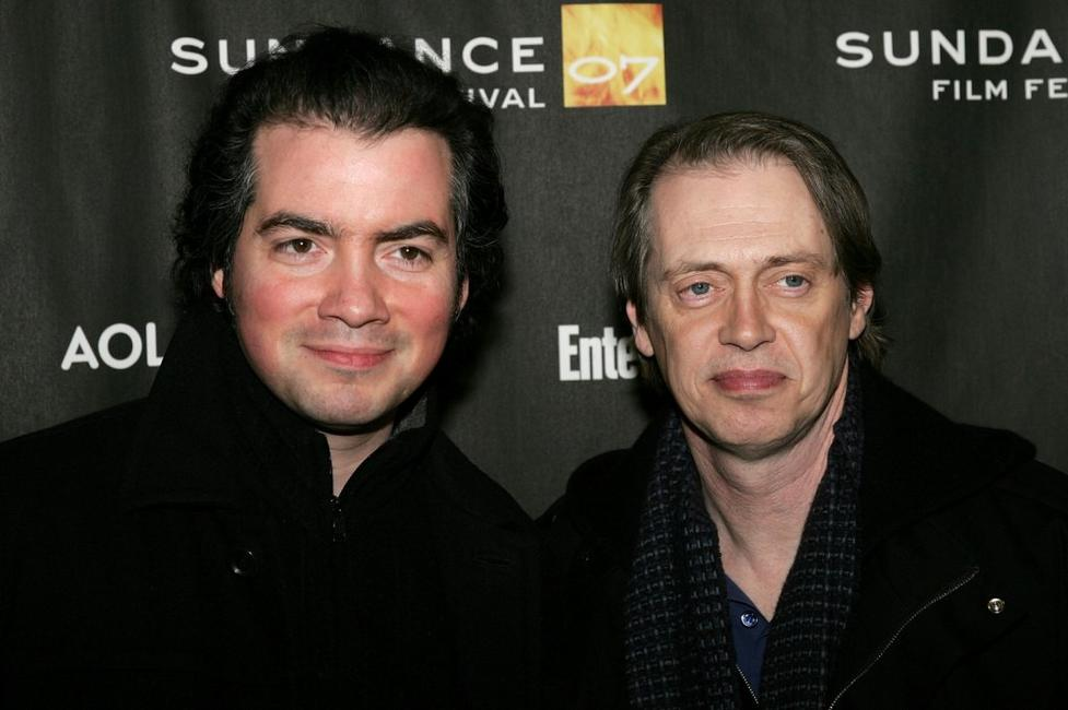 Kevin Corrigan and Steve Buscemi at the premiere of
