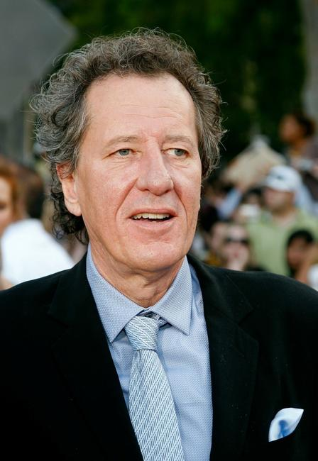 Geoffrey Rush at the premiere of