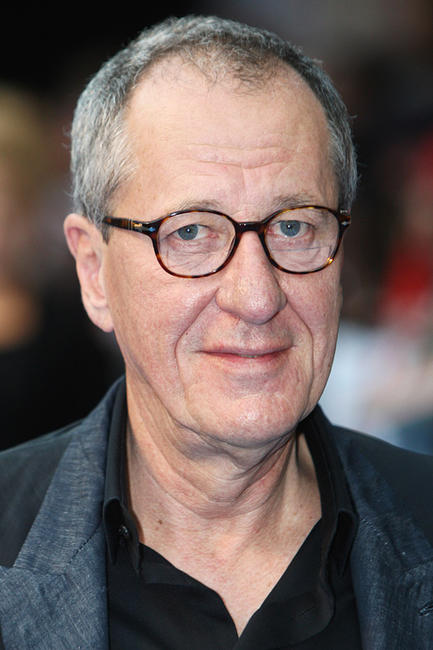 Geoffrey Rush at the UK premiere of