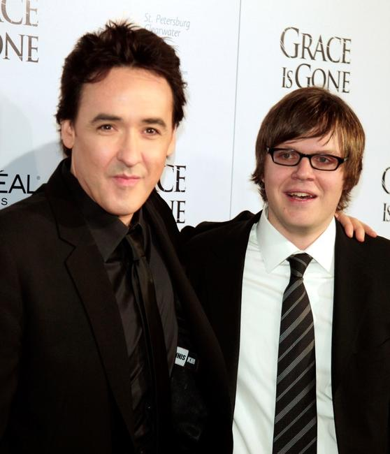 John Cusack and James C. Strouse at the premiere of
