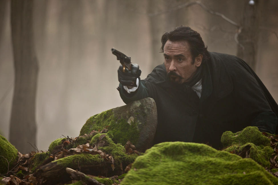 John Cusack as Edgar Allan Poe in