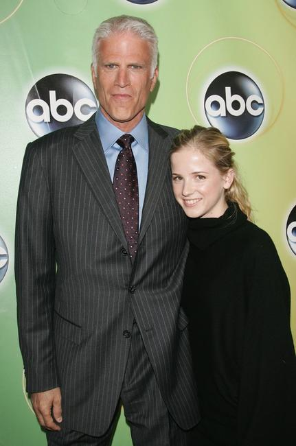 Ted Danson and his daughter Katrina Danson attend the ABC Television Network Upfront.