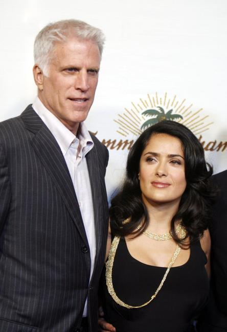 Ted Danson and Salma Hayek at the Oceana's 2006 Partners Award Gala.