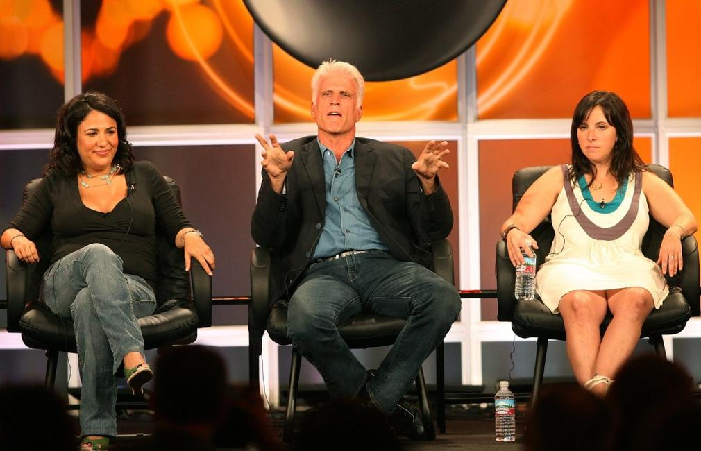 Ted Danson, Jennifer Konner and Alexandra Rushfield from the series