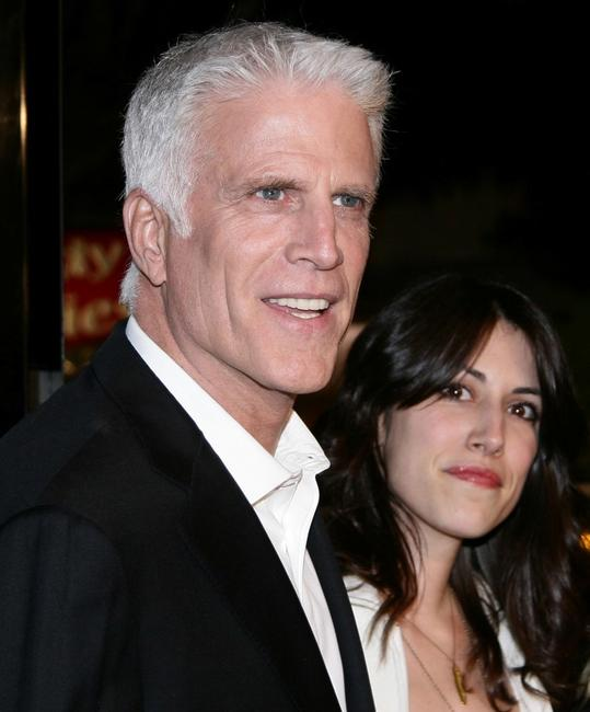 Ted Danson and guest at the premiere of