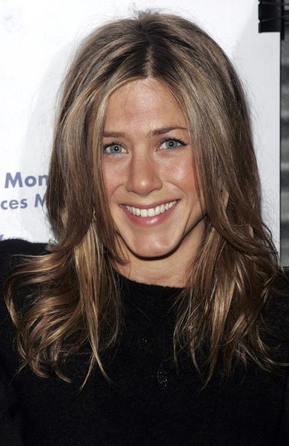 Jennifer Aniston at the Women in Film and the Cast of