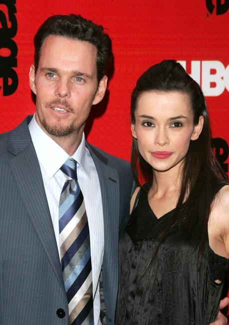 Kevin Dillon and his wife Jane Stuart at The Fourth Season Premiere of
