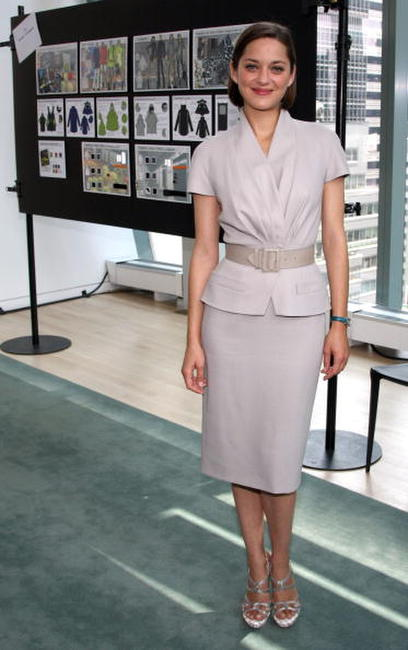 Marion Cotillard at the Bike In Style challenge winner announcement and awards ceremony.