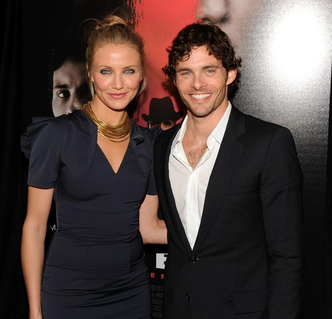 Cameron Diaz and James Marsden at the New York premiere of