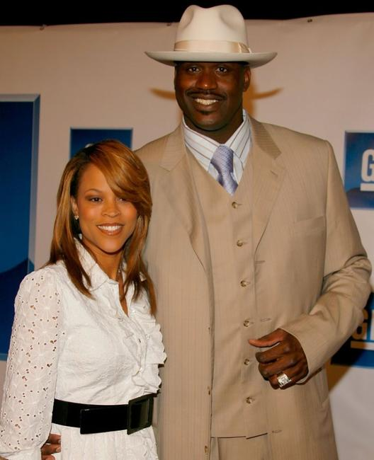 Shaunie O'Neal and Shaquille O'Neal at the 3rd annual GM All-Car Showdown.