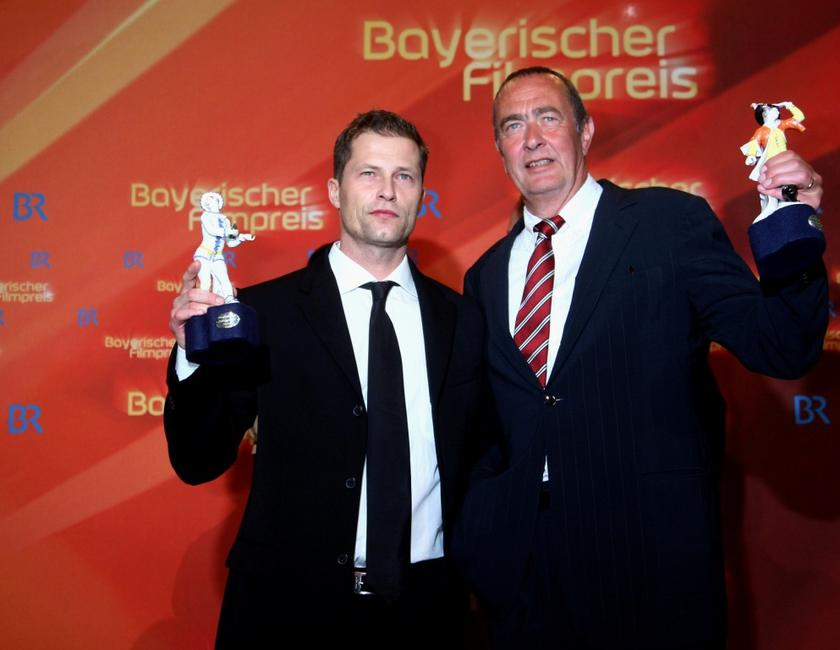 Til Schweiger and Bernd Eichinger at the Bavarian Film Awards 2008.