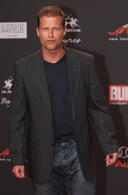 Til Schweiger at the New Faces Award.