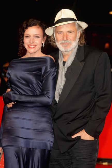 Maria Schrader and Rade Serbedzija at the premiere of