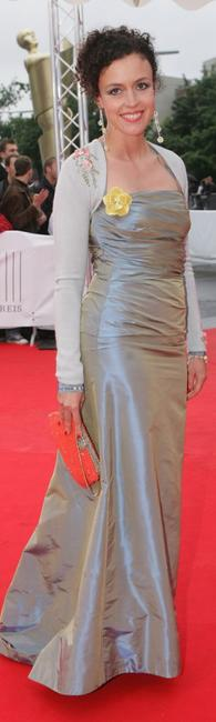Maria Schrader at the Deutscher Filmpreis, the German Film Awards.