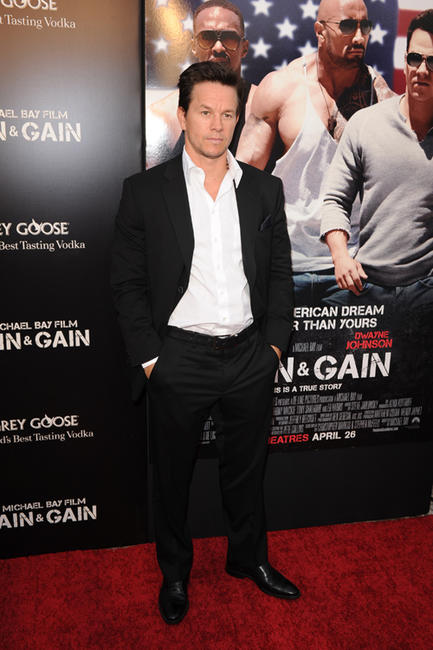 Mark Wahlberg at the Florida premiere of