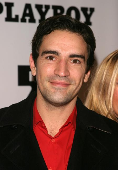 Ben Chaplin at the Playboy 50th Anniversary celebration.