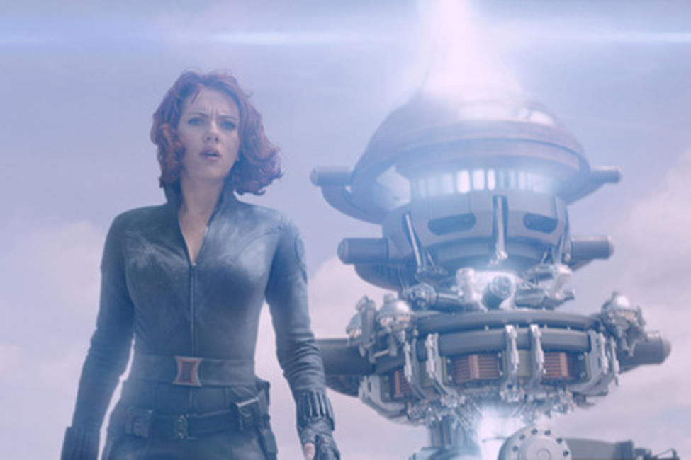 Scarlett Johansson as Black Widow in ``Marvel's the Avengers.''
