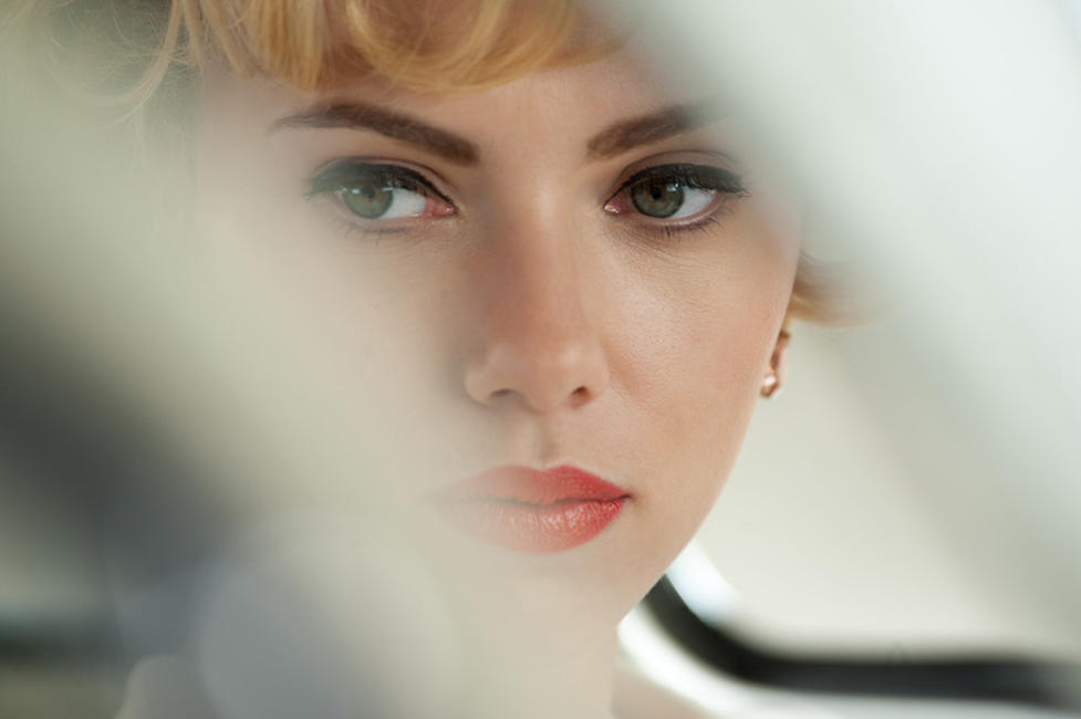 Scarlett Johansson as Janet Leigh in