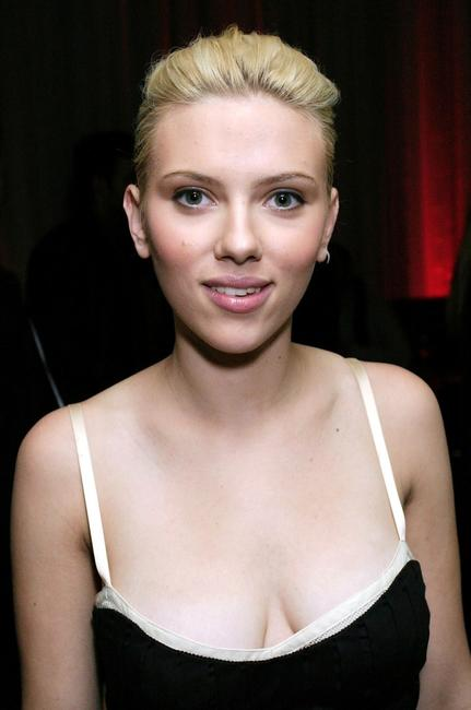 Scarlett Johansson at the Lost in Translation DVD Launch Party.