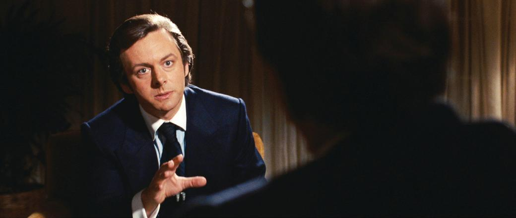 Michael Sheen as David Frost in