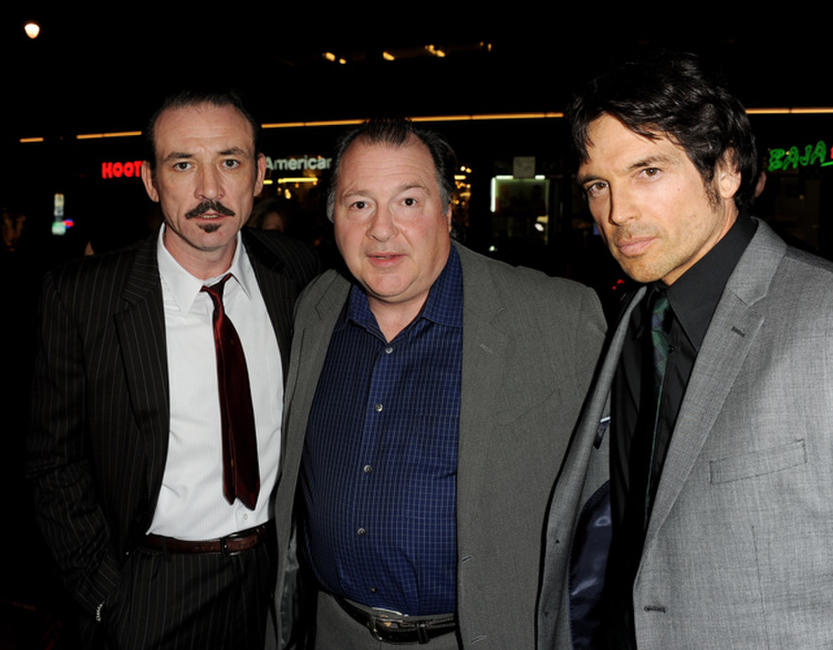 Ritchie Coster, Kevin Dunn and Jason Gedrick at the California premiere of