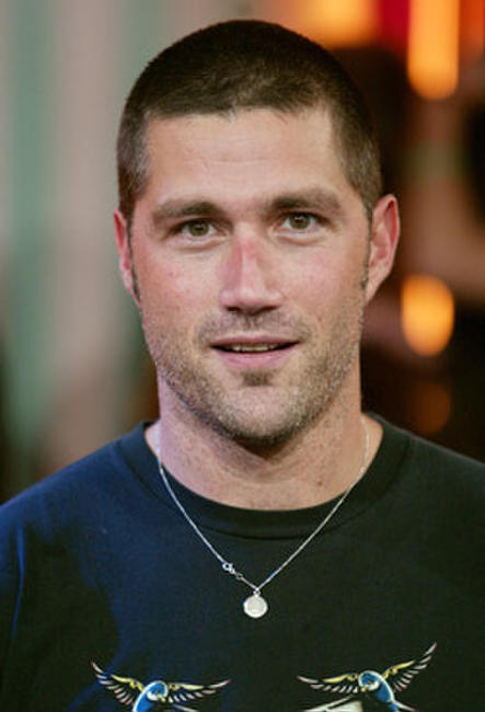 Matthew Fox at MTV's Total Request Live in N.Y.