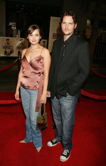 Rachael Leigh Cook and Peter Facinelli at the California premiere of
