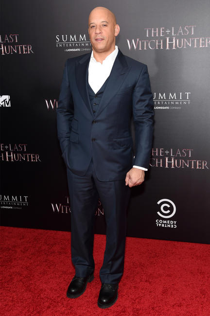 Vin Diesel at the New York premiere of