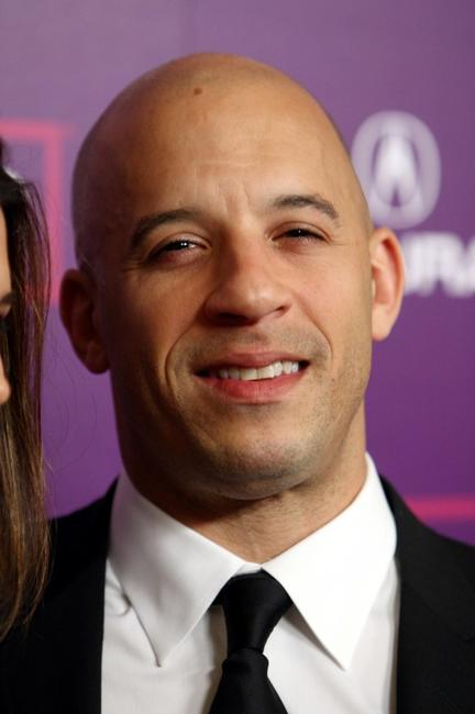 Vin Diesel at the 23rd Annual American Cinematheque show.