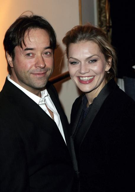 Jan Josef Liefers and Anna Loos Liefers at the Artists Against AIDS gala.