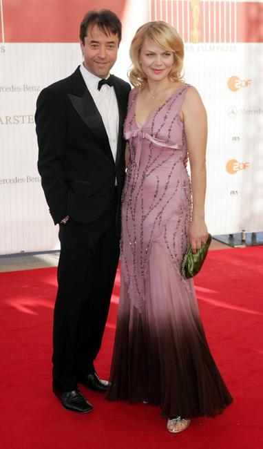 Jan Josef Liefers and Anna Loos Liefers at the German Film Awards.