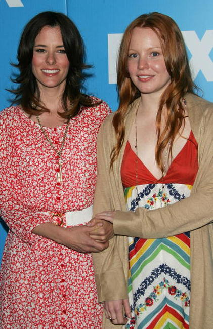 Lauren Ambrose and Parker Posey at the FOX 2007 Programming Presentation.