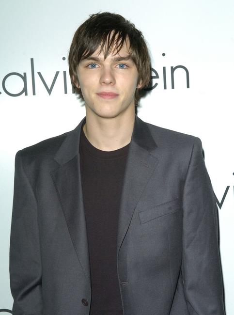 Nicholas Hoult at the presentation of Calvin Kleins new collection.