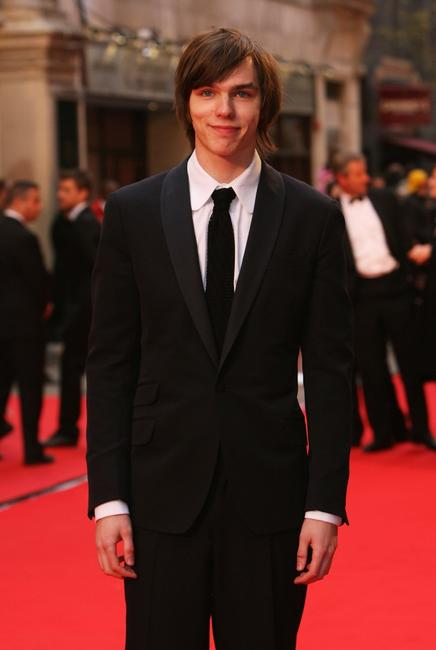 Nicholas Hoult at the British Academy Television Awards 2008.