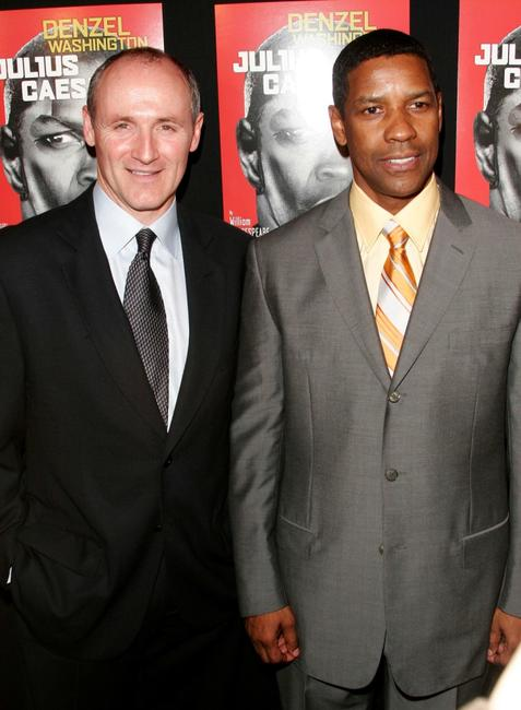 Colm Feore and Denzel Washington at the after party for the