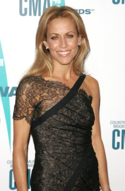 Sheryl Crow at the 40th Annual CMA Awards.