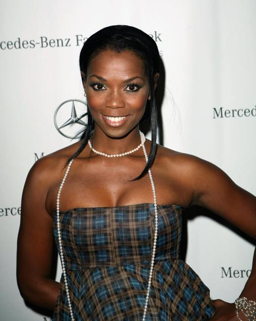Vanessa A. Williams at the Mercedes Benz Fashion Week.