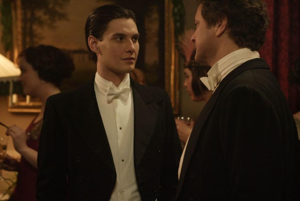 Ben Barnes as John and Colin Firth as Mr. Whittaker in